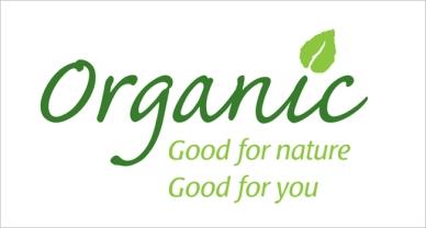 organic farming sign